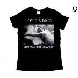 Joy Division - T-Shirt de Mulher - Love Will Tear us Apart