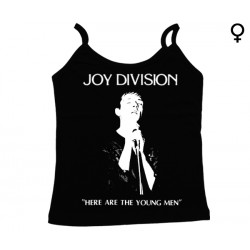 Joy Division - Top de Mulher - Here Are The Young Man