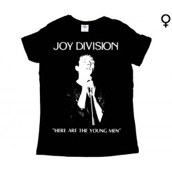 Joy Division - T-Shirt de Mulher - Here Are The Young Man