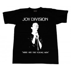 Joy Division - T-Shirt - Here Are The Young Man