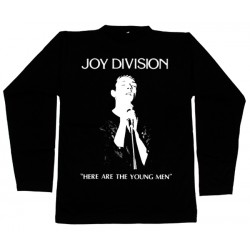 Joy Division - Long Sleeve - Here Are The Young Man