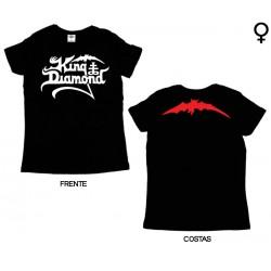 King Diamond - T-Shirt de Mulher - Logo