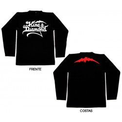 King Diamond - Long Sleeve - Logo