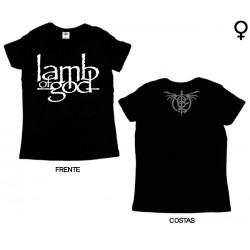 Lamb of God - T-Shirt de Mulher - Logo