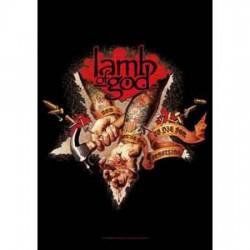 Lamb Of God - Bandeira - Nail Hands