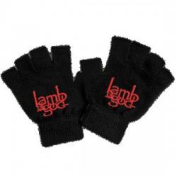 Lamb Of God - Luvas - Red Logo