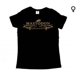 Mastodon - T-Shirt de Mulher - Leviathan