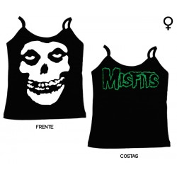 Misfits - Top de Mulher - Skull
