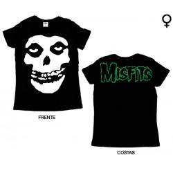 Misfits - T-Shirt de Mulher - Skull