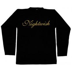 Nightwish- Long Sleeve - Gold Logo