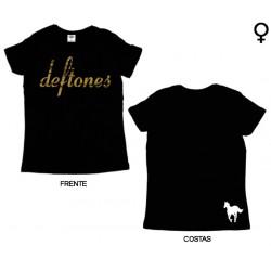 Deftones - T-Shirt de Mulher - Logo