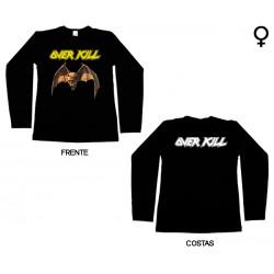 Overkill - Long Sleeve de Mulher - Logo