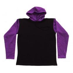 Sweat Shirts Carapuço - Conjugação de Duas Cores
