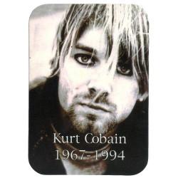 Nirvana - Autocolante - Kurt Cobain