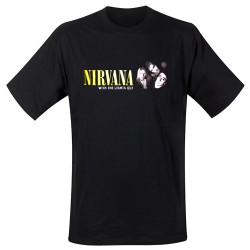 Nirvana - T-Shirt - Lights Out