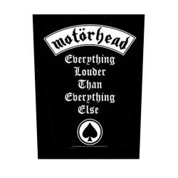 Motörhead - Patch Grande - EVERYTHING LOUDER