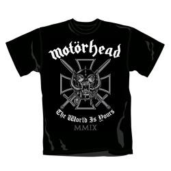 Motörhead - T-Shirt - Iron Cross