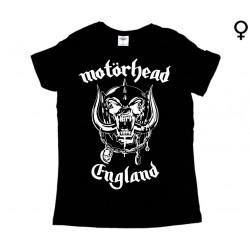 Motörhead - T-Shirt de Mulher - England