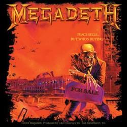 Megadeth - Autocolante - Peace Sells