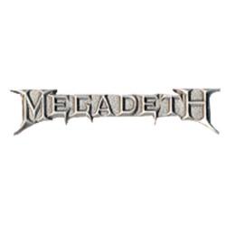 Megadeth - Pin - Chrome Logo