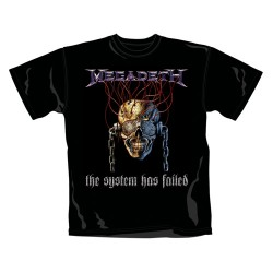 Megadeth - T-Shirt - System Has Failed
