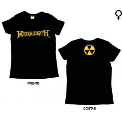 Megadeth - T-Shirt de Mulher - Logo