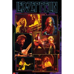 Led Zeppelin - Poster - Collage