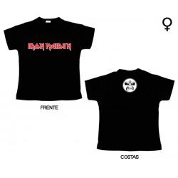 Iron Maiden - T-Shirt de Mulher - Logo