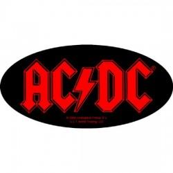 AC/DC - Autocolante - Oval Logo