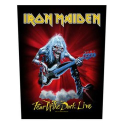Iron Maiden - Patch Grande - Fear of the dark live