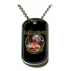 Iron Maiden - Dog Tag - Somewhere in time