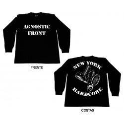 Agnostic Front - Long Sleeve - New York Hardcore